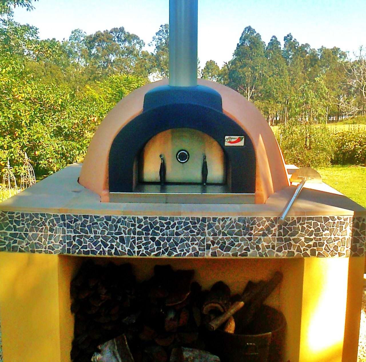Custom Pizza Oven Fitout Hunter Valley | MLC FAB Hunter Valley Branxton