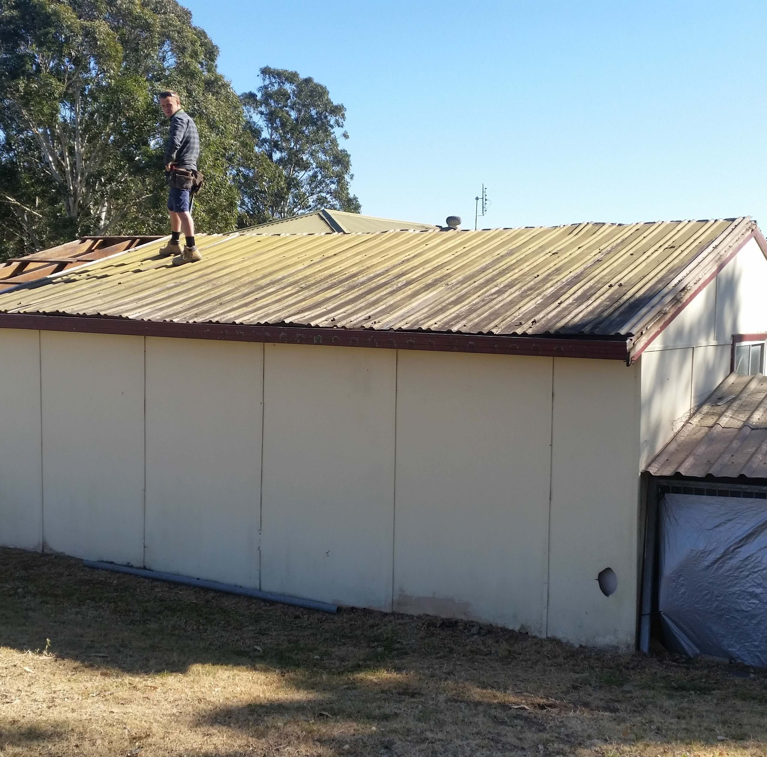 MLC Fabrication Carport Construction and Roof Replacement Hunter Valley