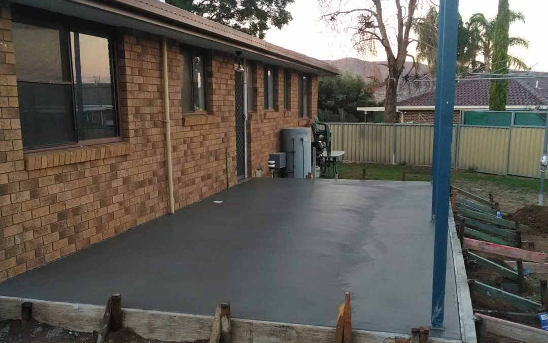 Concreting Branxton